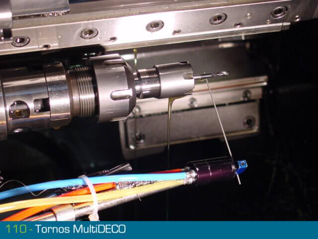 détecteur de bris d'outil 110 DETECTOR sur Tornos Multidéco