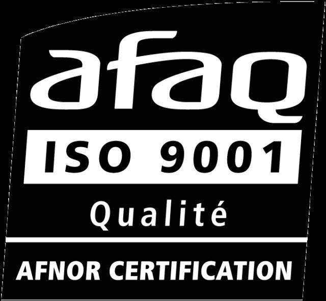 Certification AFAQ ISO 9001